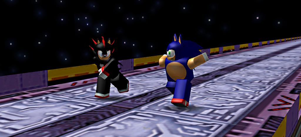 ROBLOX: Sonic Vs Shadow [Final Showdown] By Thejeterman On