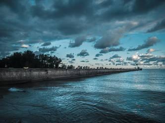 Fairport Pier by JohnKyo