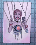 Cyborg selfie