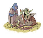 Nott and Kiri (Critical Role)