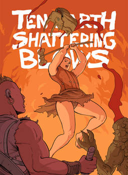 Ten Earth Shattering Blows - promo art