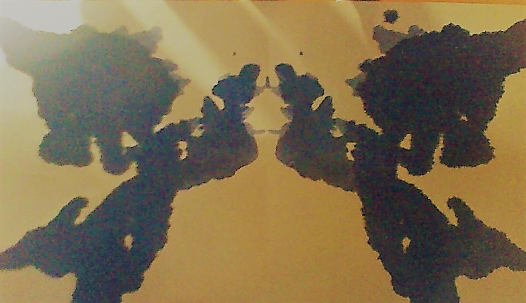 le jeu des taches d'encre #1 by anami-studio