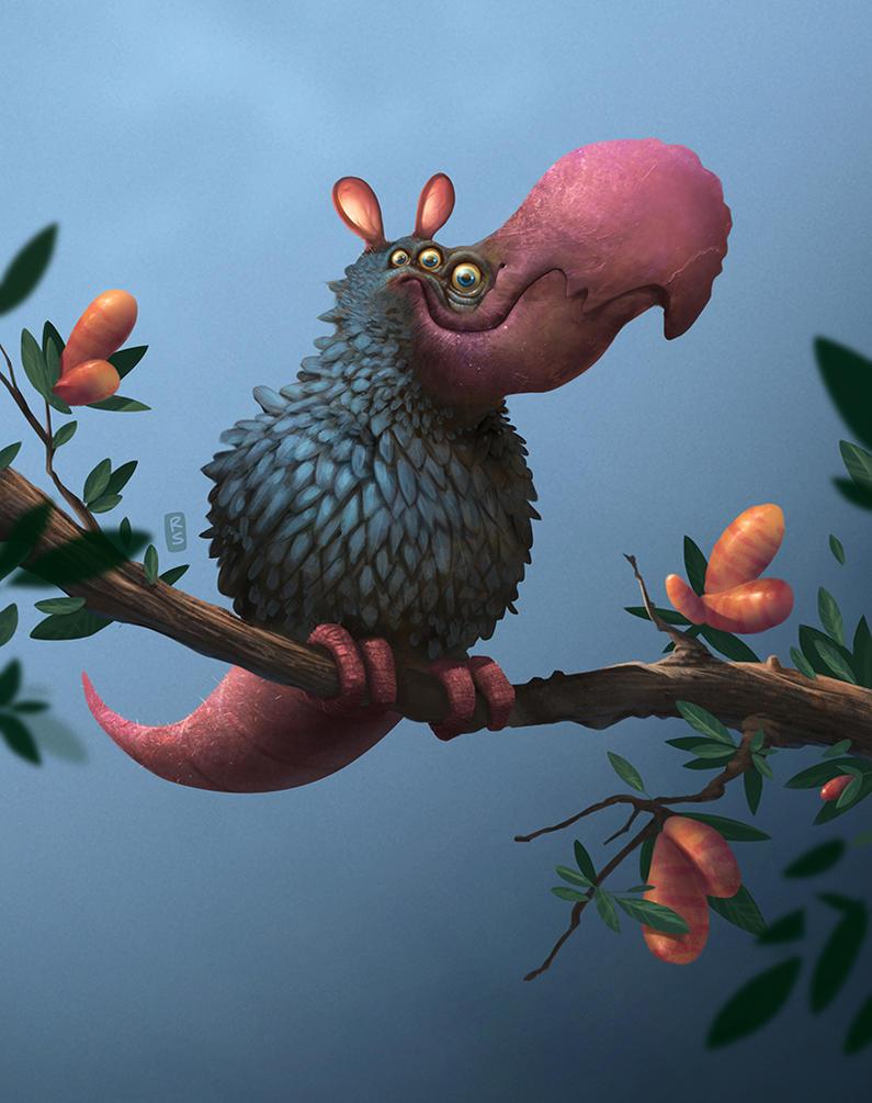 Dudun bird by sra-prove