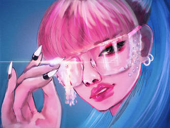 BLACKPINK Lisa by WANNAONE