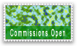 Stamp: Commissions Open 1 by TheInflater