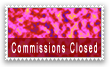Stamp: Commissions Closed 1 by TheInflater