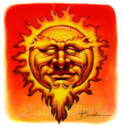 Bearded Sun by ThirtyFiveThousand