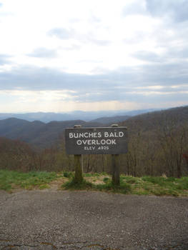 blue ridge parkway Buncher Bald
