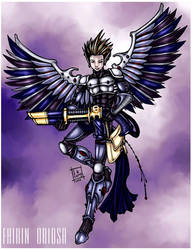 Fhirin Oriosa, Swooping Hawk by mooglekitty