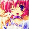 Pink Hair Anime Girl Avatar by ideekayys