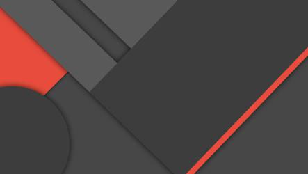 [MinFlat] Dark Material Design Wallpaper (4K)