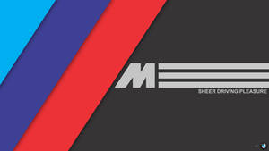 [MinFlat] BMW M Performance Wallpaper (4K)