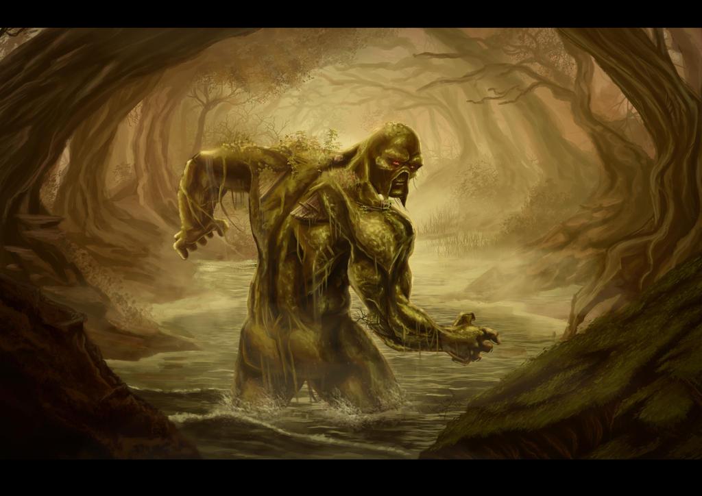 Swamp Thing by guilherme-batista