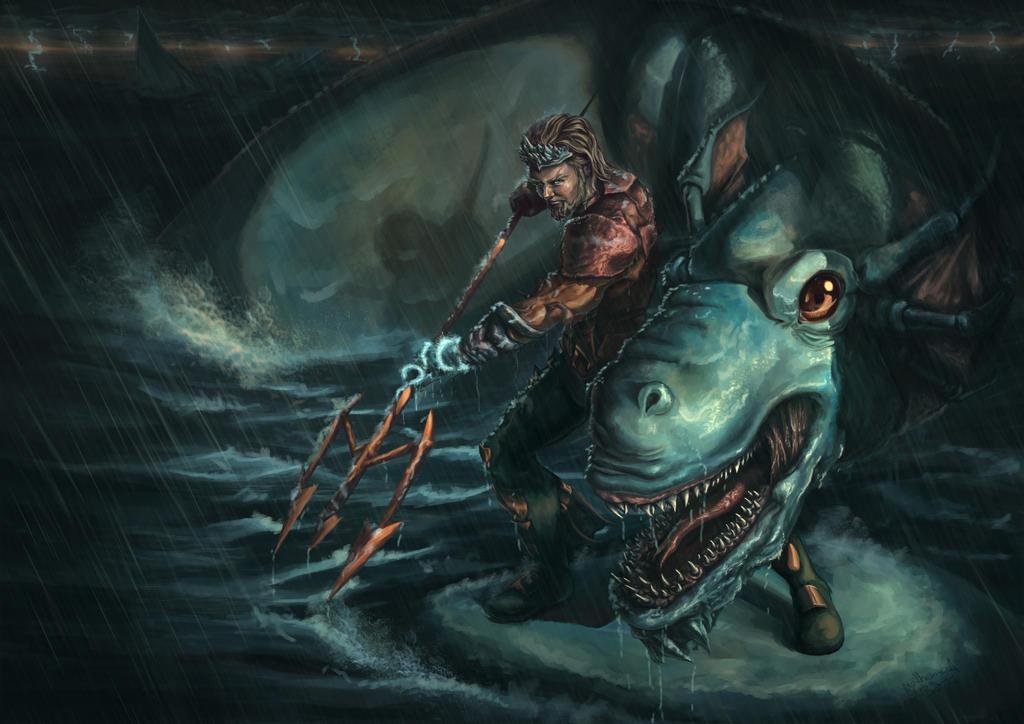 Aquaman by guilherme-batista