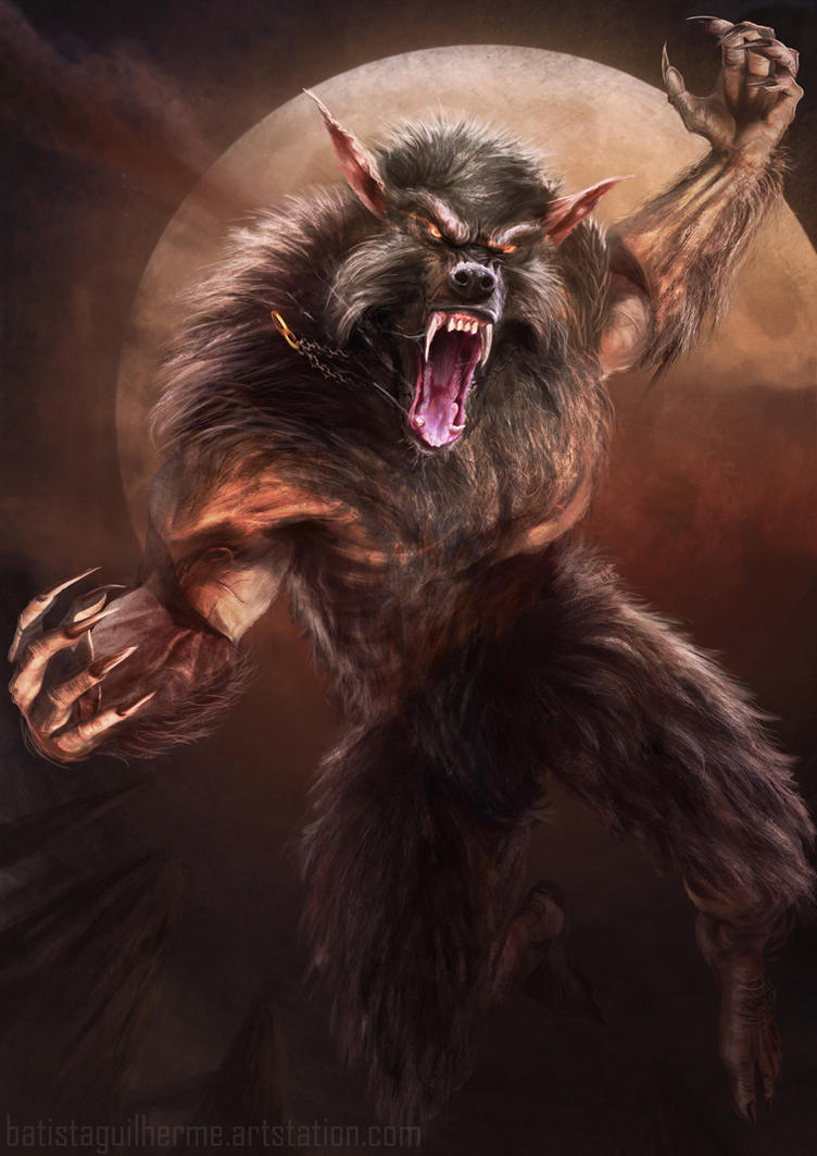 Sedrik The werewolf by guilherme-batista