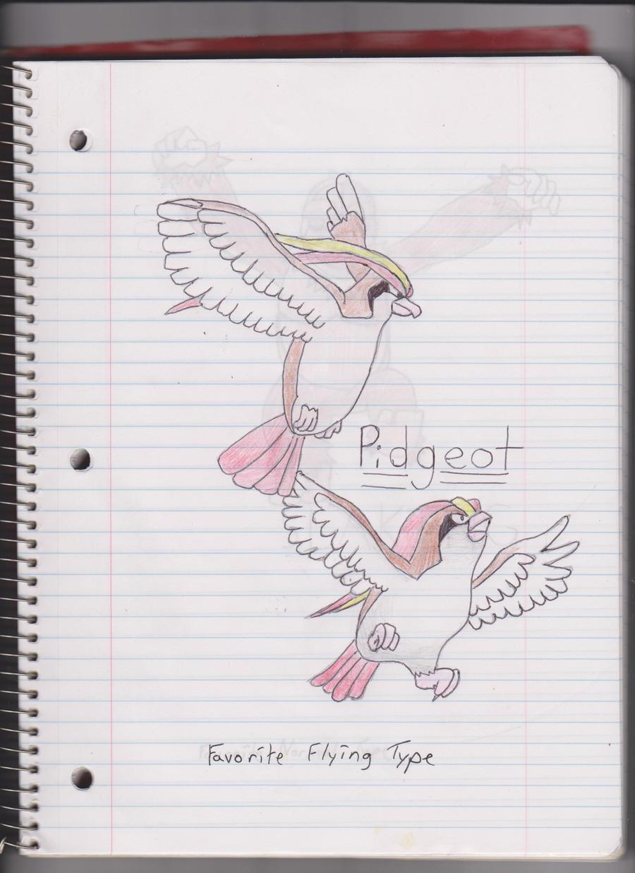 Pidgeot by DeadSkullFace