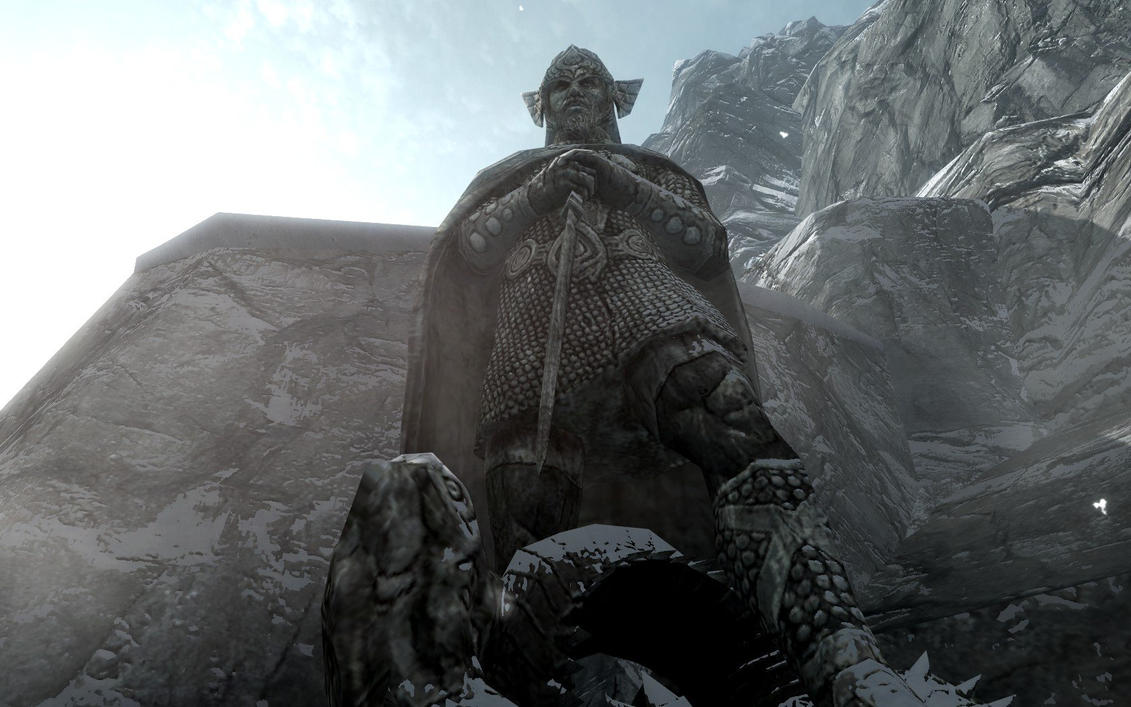 above is skyrim drawing - photo #42