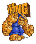 ajnins the thing colored