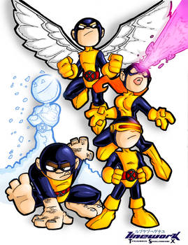 tyrannus x-men colored asaa