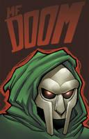 mf doom by shalomone