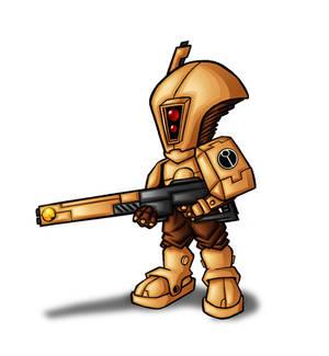 deformed tau warrior