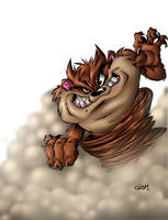 taz by qba colored by me by shalomone