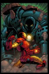 Iron man vs iron monger by shalomone