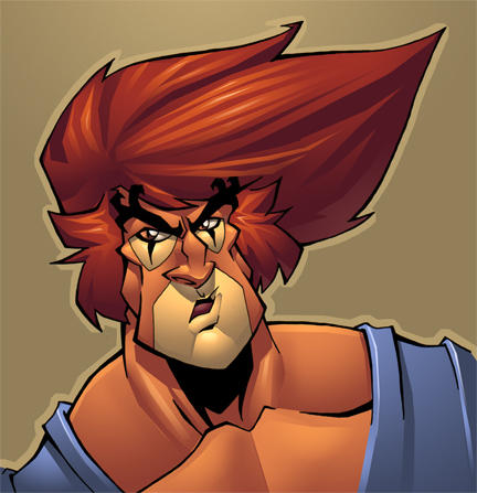 Sams lion-o colored by shalomone