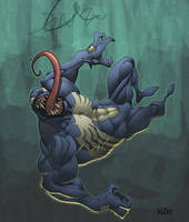 venom by kizer colored by shalomone
