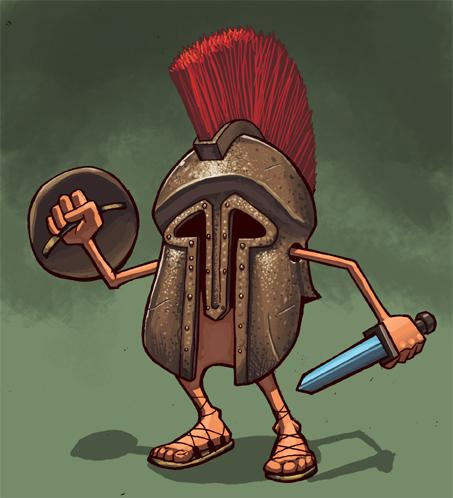 Gladiator by shalomone