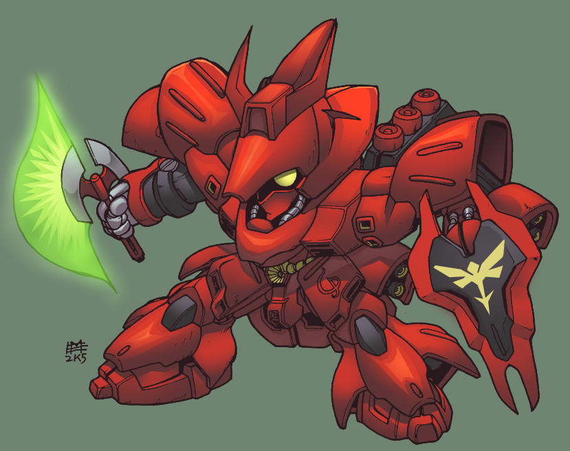 VR-eli sazabi colored by shalomone