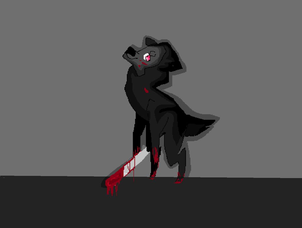 yandere llama by TottleTheRunt