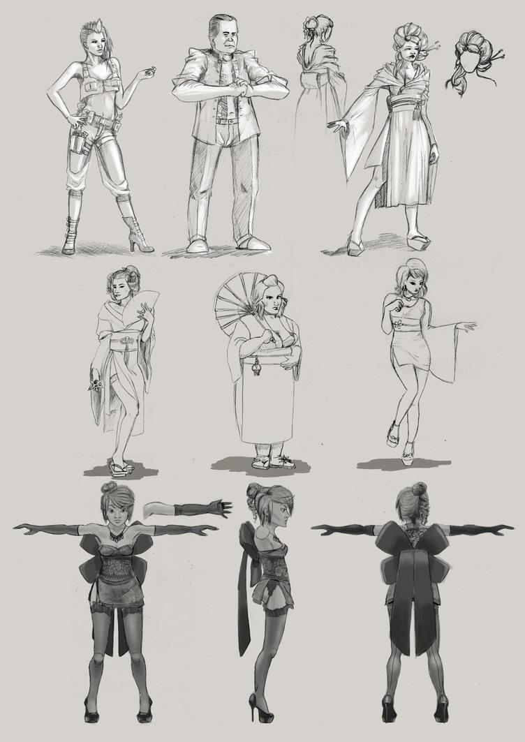 D Artiste Character Design Download : Hostess character designs by sweetangel on deviantart