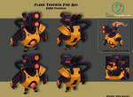 Flame Thrower Fire Bat