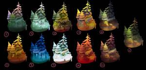 Forest Colorstudies