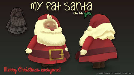 My Fat Santa by sweetangel0467
