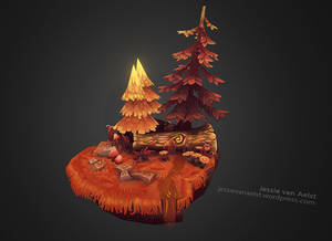 Forest Scene Touchup