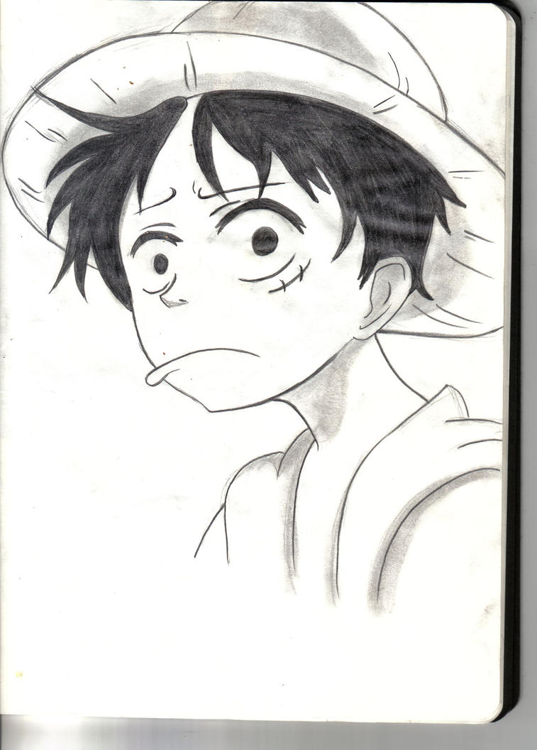 Monkey D.Luffy Fanart by Yevilyn
