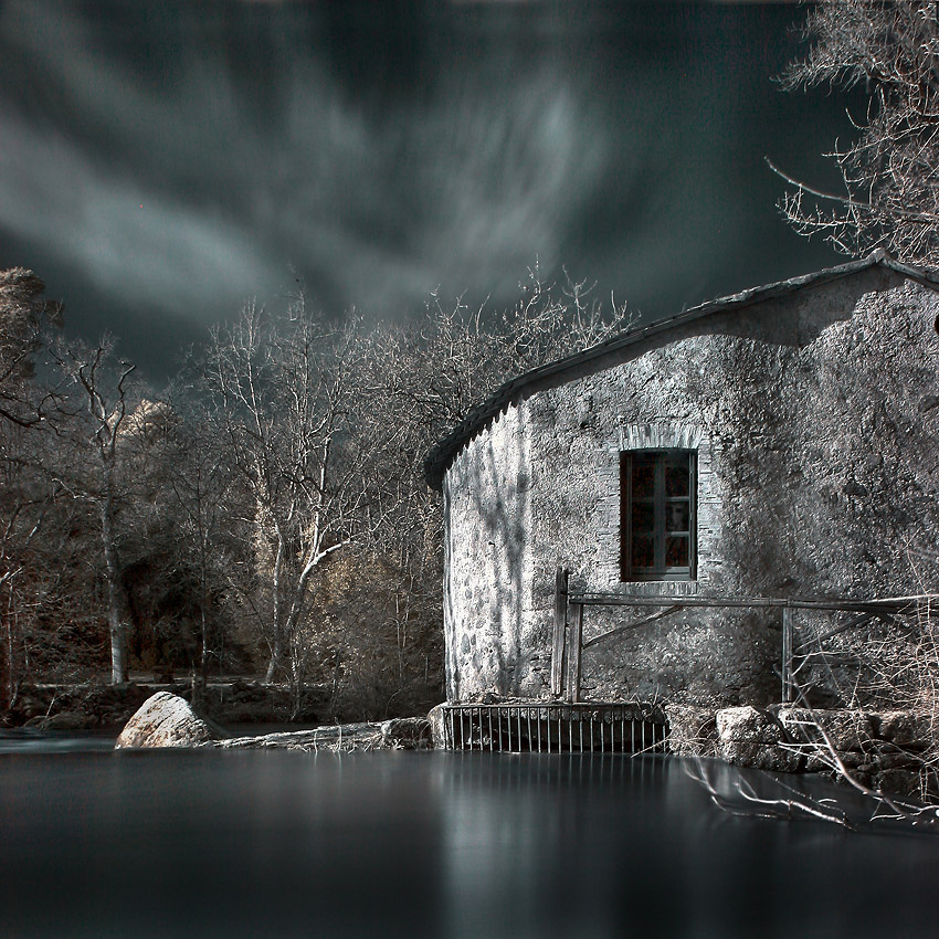 Le vieux moulin by Anrold
