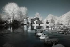 Moulin de Poupet by Anrold