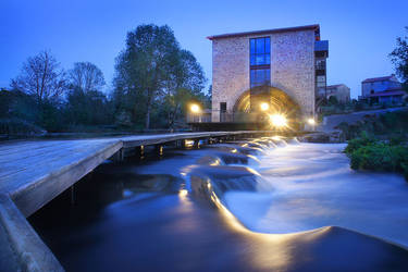 Moulin de la roche by Anrold