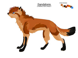 Sandstorm Character Sheet by SophieReicher