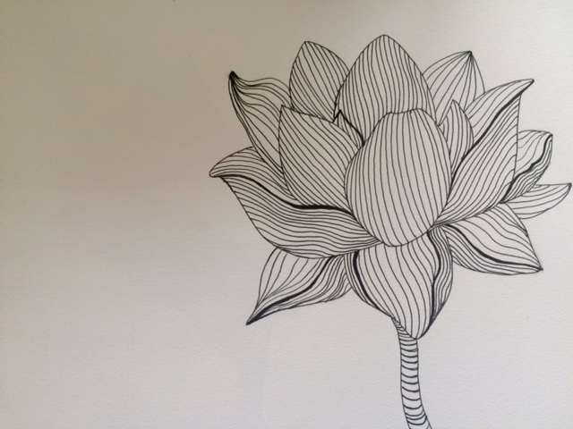 Contour Line Drawing Flower : Cross contour by wyvernskyes on deviantart