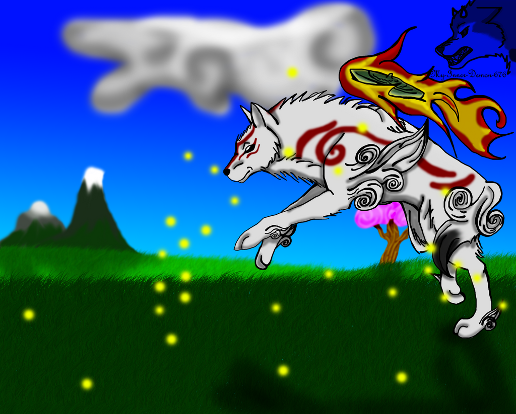 okami Amaterasu by My-Inner-Demon-676