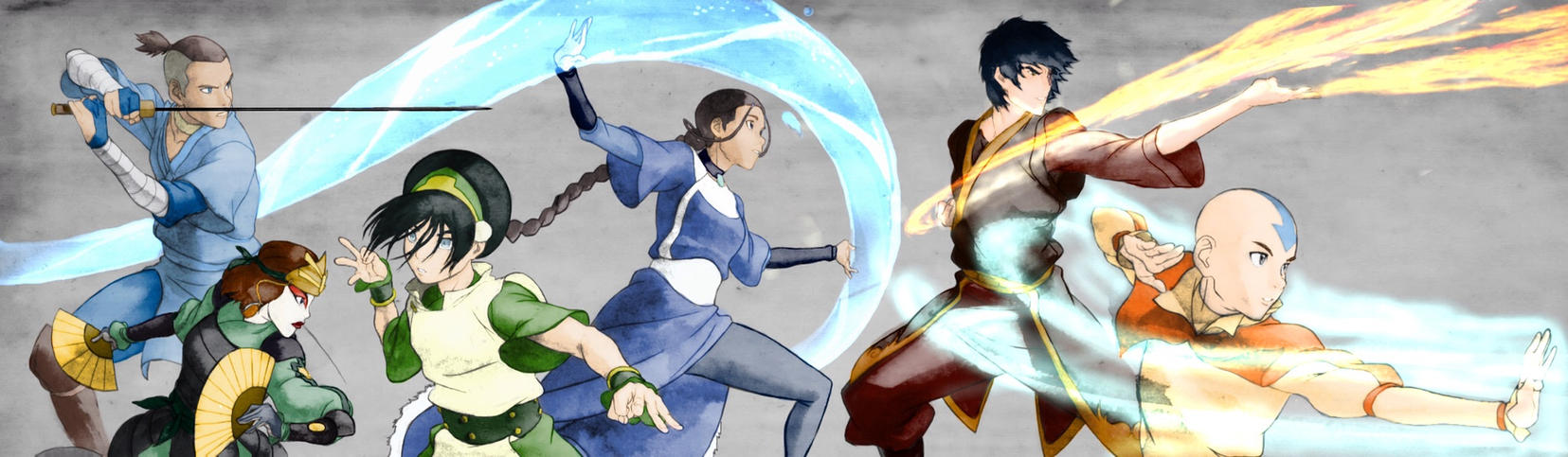 Team Avatar by BrotherWolfLv05