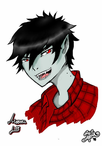 Inktober Marshall Lee by BrotherWolfLv05