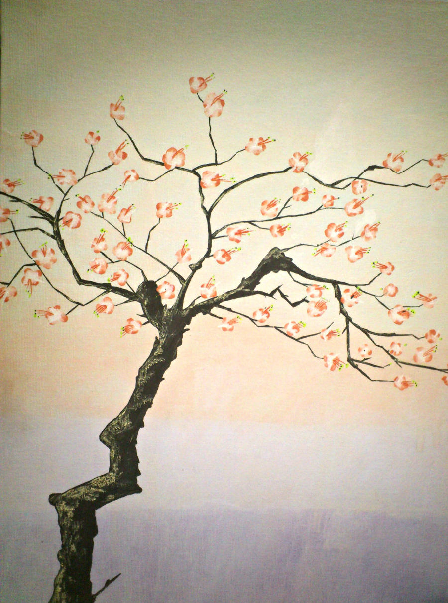 Chinese Cherry Blossom tree by MysteriousKiara on DeviantArt