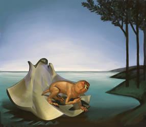 Birth of Wenus by Ill-wovenElm