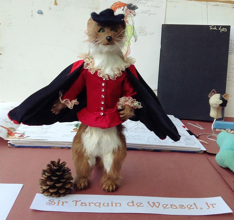 Sir Tarquin de Weasel, Jr by StarlightGlow