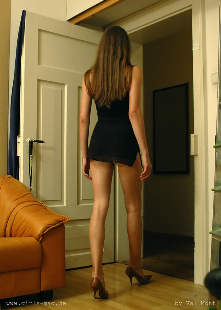 Pantyhose Dressing Room